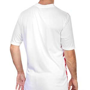 Camiseta Puma AC Milan 2a pre-match 2020 2021 - Camiseta pre partido visitante Puma del AC Milan 2020 2021 - blanca y roja - trasera