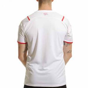 Camiseta Puma 2a Suiza 2021 - Camiseta segunda equipación Puma de la selección suiza 2021 - blanca