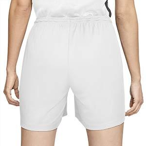 Short Nike Park mujer - Pantalón corto de mujer Nike Park - blanco - trasera