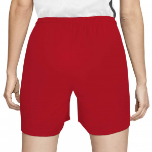Short Nike Park mujer - Pantalón corto de mujer Nike Park - rojo - trasera
