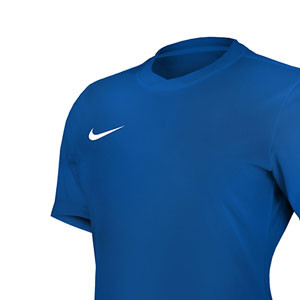 Camiseta Nike Park VI mujer  - Azul - detalle