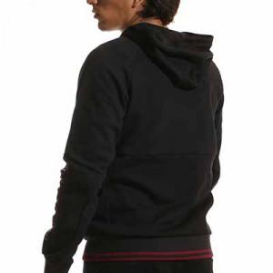 Chaqueta Joma Torino paseo - Chaqueta con capucha de paseo Joma del Torino FC - negra