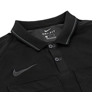 Camiseta árbitro Nike Referee - Camiseta para árbitro Nike - negra - detalle