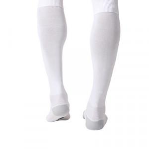 Medias adidas Milano - Medias de fútbol adidas - blancas - trasera