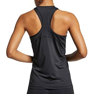 Camiseta de tirantes Nike Pro mujer - Camiseta de tirantes de mujer para fútbol Nike - negra - trasera
