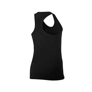 Camiseta Nike Pro niña - Camiseta de tirantes para niña Nike - negra - trasera