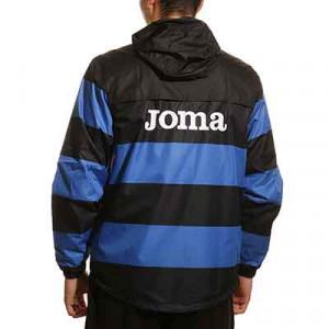 Chubasquero Joma Atalanta entrenamiento - Chubasquero de entrenamiento Joma del Atalanta Bergamasca Calcio - azul, negro