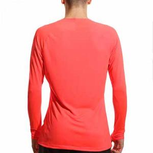 Camiseta interior Nike Dri-FIT Park  - Camiseta interior compresiva de manga larga Nike - roja