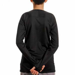 Camiseta interior térmica Nike Dri-Fit Park niño - Camiseta interior compresiva infantil manga larga Nike - negra - trasera