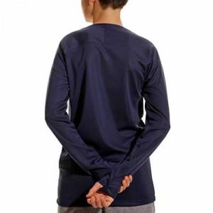 Camiseta interior térmica Nike Dri-Fit Park niño - Camiseta interior compresiva infantil manga larga Nike - azul marino - trasera
