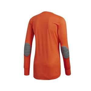 Camiseta portero adidas niño Assita 17 - Camiseta de portero infantil de manga larga acolchada adidas - naranja - trasera