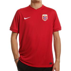 Camiseta Nike Noruega Haaland 2020 2021 Stadium - Camiseta primera equipación Haaland selección de Noruega 2020 2021 - roja