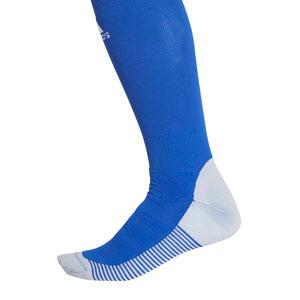 Medias adidas Adisock 18 - Medias de fútbol adidas - azules - trasera