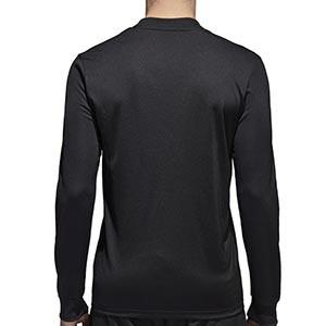 Camiseta adidas Referee 18 - Camiseta de manga larga adidas de árbitro - negra - trasera