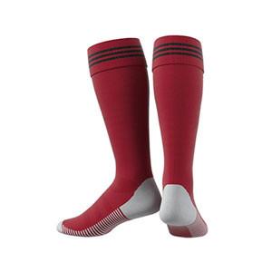 Medias adidas Adisock 18 - Medias de fútbol adidas - rojas - trasera