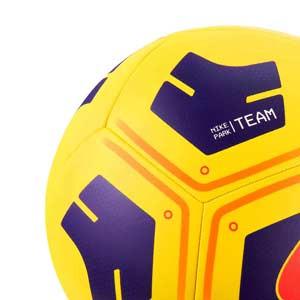 Balón Nike Park Team talla 5 - Balón de fútbol Nike talla 5 - amarillo - trasera