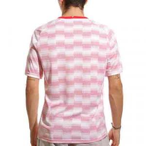 Camiseta Nike Polonia pre-match  - Camiseta de calentamiento pre partido Nike selección polaca - blanca