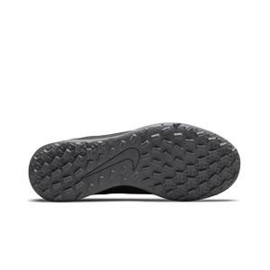 Nike Mercurial Jr Vapor 14 Club TF - Zapatillas de fútbol multitaco infantiles Nike suela turf - negras