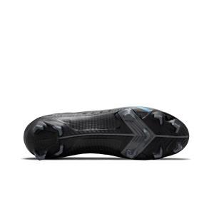 Nike Mercurial Superfly 8 Pro FG - Botas de fútbol con tobillera Nike FG para césped natural o artificial de última generación - negras