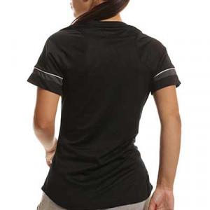 Camiseta Nike Dri-Fit Academy 21 mujer - Camiseta de maga corta de mujer para entrenamiento fútbol Nike - negra