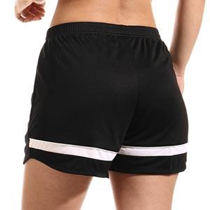 Short Nike Dri-Fit Academy 21 mujer - Pantalón corto de entrenamiento de fútbol para mujer Nike - negro - trasera