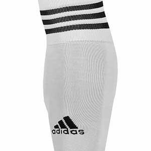 Medias sin pie adidas Team 18 - Medias de fútbol adidas Team 18 sin pie - Blanco - frontal