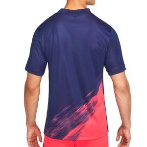 Camiseta Nike 2a Atlético 2021 2022 Dri-Fit Stadium - Camiseta segunda equipación Nike del Atlético de Madrid 2021 2022 - azul marino, rosa