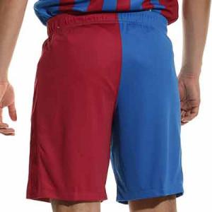 Short Nike Barcelona 2021 2022 Dri-Fit Stadium - Pantalón corto primera equipación Nike del FC Barcelona 2021 2022 - azulgrana - completa trasera