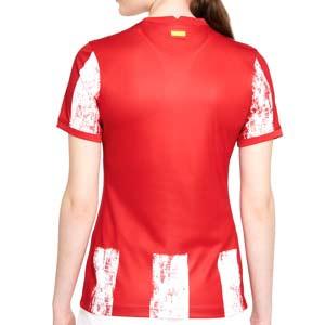 Camiseta Nike Atlético 2021 2022 mujer Dri-Fit Stadium - Camiseta primera equipación de mujer Nike del Atlético Madrid 2021 2022 - roja y blanca