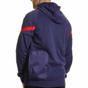 Sudadera Nike Atlético Travel Fleece Hoodie - Sudadera con capucha Nike del Atlético de Madrid - azul marino