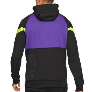 Sudadera Nike Tottenham Travel Fleece Hoodie - Sudadera con capucha de paseo Nike del Tottenham HFC - negra, lila