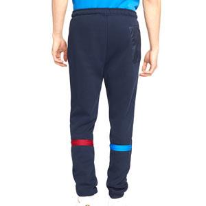 Pantalón Nike Barcelona Dri-Fit Travel Fleece - Pantalón largo de paseo Nike del FC Barcelona - azul marino