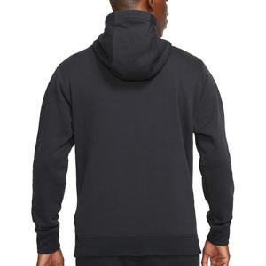 Sudadera Nike Chelsea Sportswear Club Hoodie - Sudadera con capucha de algodón Nike del Chelsea FC - negra