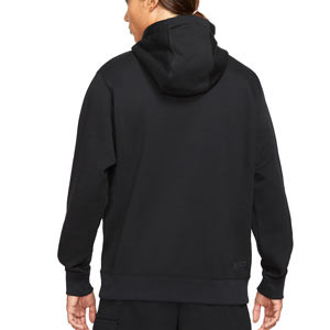 Sudadera Nike Tottenham Club Hoodie - Sudadera de algodón con capucha Nike del Tottenham HFC - negra