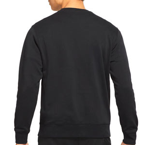 Sudadera Nike PSG Sportswear Club Crew - Sudadera de algodón Nike del París Saint-Germain - negra