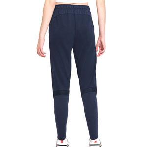 Pantalón Nike Barcelona mujer Travel - Pantalón largo de calle Nike de mujer del FC Barcelona - azul marino