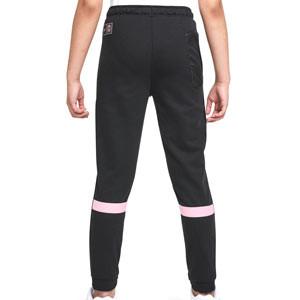 Pantalón Nike PSG niño Travel Fleece - Pantalón largo infantil de paseo Nike del París Saint-Germain - negro