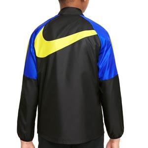 Chubasquero Nike Chelsea niño Dri-Fit Repel Academy - Chaqueta impermeable infantil Nike del Chelsea FC - negro, azul