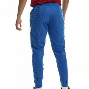 Pantalón Nike Barcelona entrenamiento Dri-Fit ADV Elite - Pantalón largo de entrenamiento Nike del FC Barcelona - azul - completa trasera