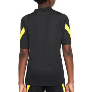 Camiseta Nike Chelsea entrenamiento niño Dri-Fit Strike - Camiseta de entrenamiento infantil Nike del Chelsea FC - negra
