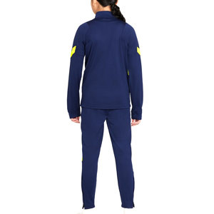 Chándal Nike Tottenham niño Strike - Chándal infantil Nike del Tottenham Hotspur - azul marino - trasera