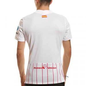 Camiseta Nike Sevilla 2021 2022 UCL - Camiseta primera equipación Nike del Sevilla FC de la Champions 2021 2022 - blanca