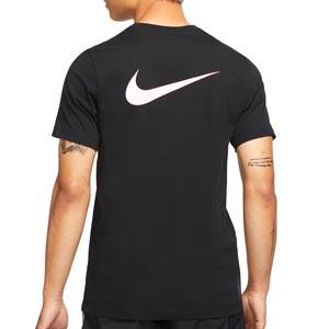 Camiseta Nike PSG Ignite - Camiseta de manga corta de algodón Nike del París Saint-Germain - negra