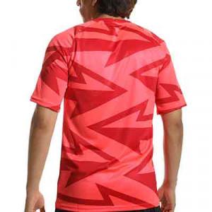 Camiseta Nike Atlético pre-match - Camiseta Nike del Atlético de Madrid pre-match - rosa rojiza