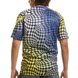 Camiseta Nike Chelsea pre-match - Camiseta de calentamiento prepartido Nike del Chelsea FC - azul y amarilla