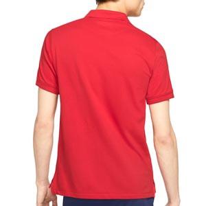 Polo Nike Atlético Slim - Polo Nike del Atlético de Madrid - rojo