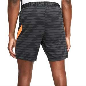 Short Nike Dri-Fit Strike 21 - Pantalón corto de entrenamiento de fútbol Nike - negro, naranja
