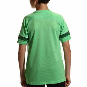 Camiseta Nike Dri-Fit Academy 21 niño - Camiseta de manga corta infantil para entrenamiento de fútbol Nike - verde - hover