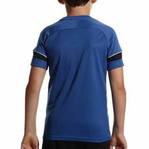 Camiseta Nike Dri-Fit Academy 21 niño - Camiseta de manga corta infantil para entrenamiento de fútbol Nike - azul - hover