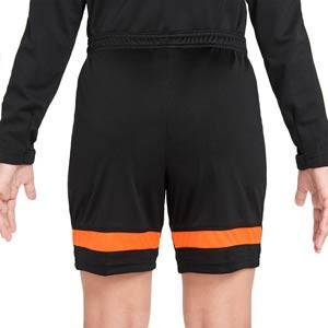 Short Nike Dri-Fit Academy 21 niño - Pantalón corto de entrenamiento de fútbol infantil Nike - negro